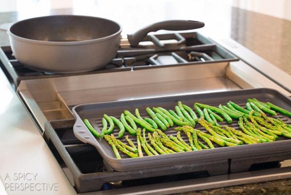 Grilled Spring Veggies