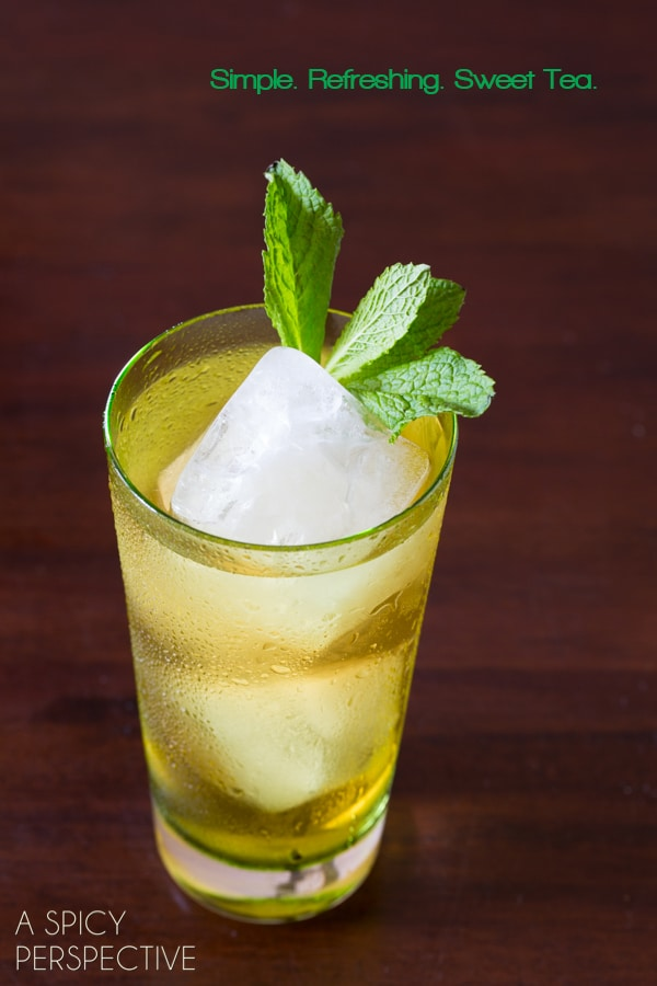 Best Sweet Tea Recipe #tea #icetea