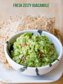 Simple Guacamole Recipe + Ideas for Add-Ins! #guacamole #fresh #avocado #cincodemayo