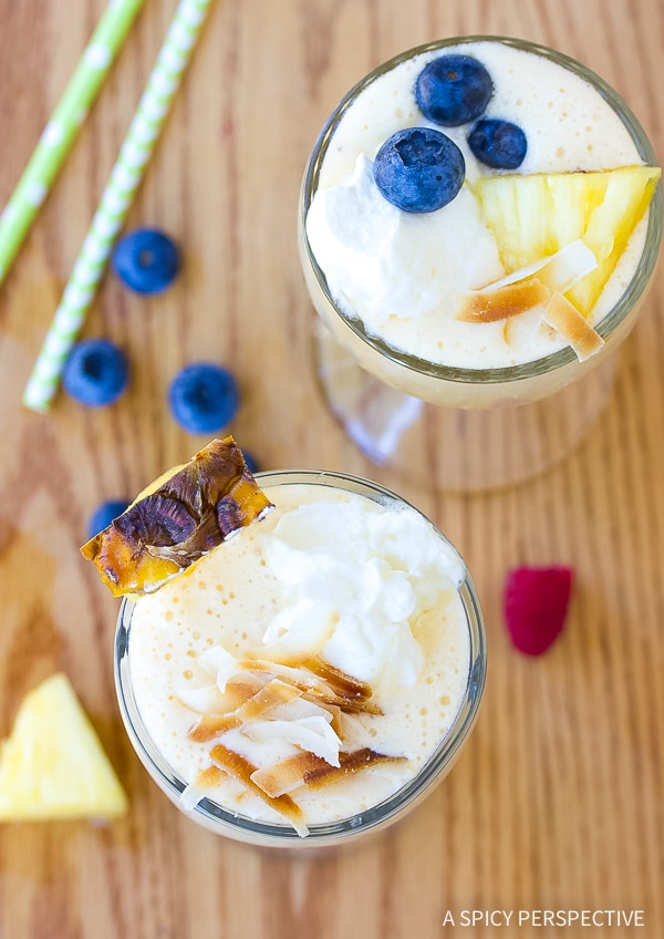 Perfect Fresh Pineapple Milkshake Recipe