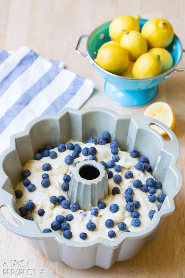 Blueberry Cake Recipe #ASpicyPerspective #Blueberry #BlueberryCake #BlueberryCakeRecipe #BlueberryBundtCake #BundtCake #Bundt #Cake #Muffin #BlueberryMuffin #Breakfast #Dessert #Summer