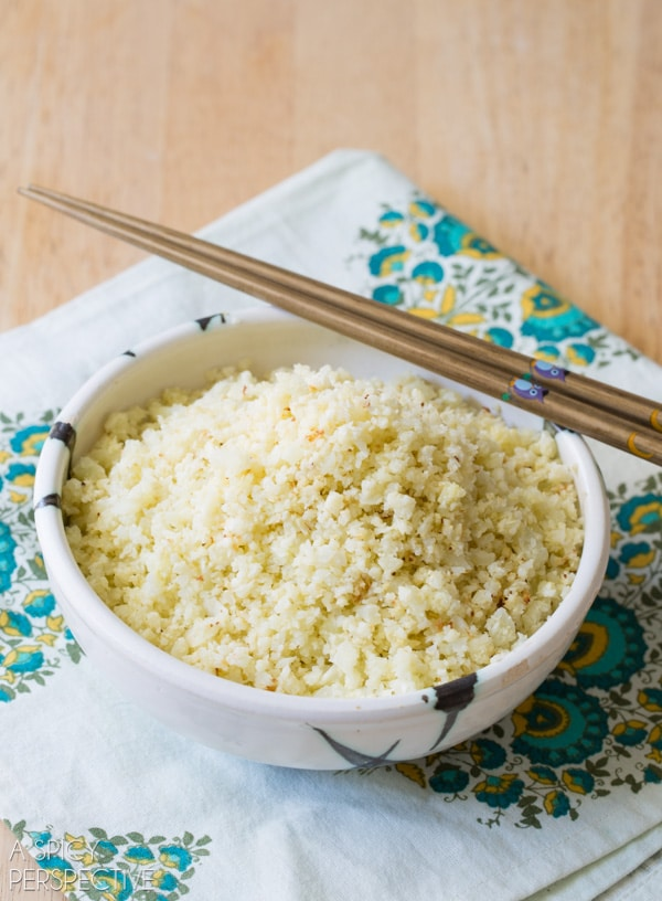 Low-Carb Cauliflower Rice