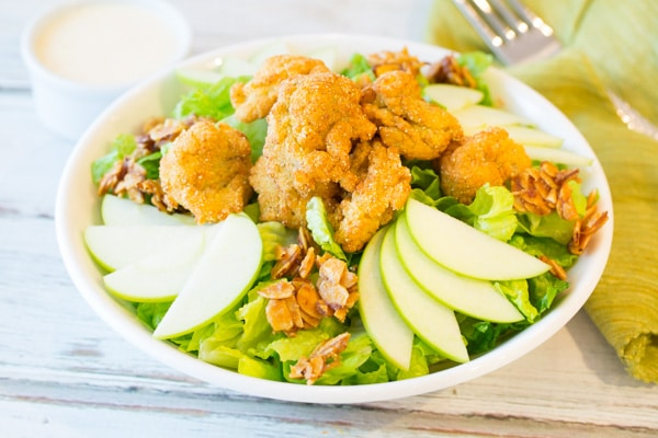 Fried Oysters Salad