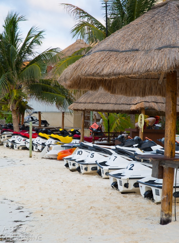 Jet skis - Mexico - Travel Tips #mexico #cancun #vacation #travel