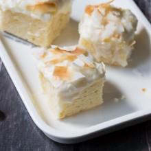 Pina Colada Cake Squares