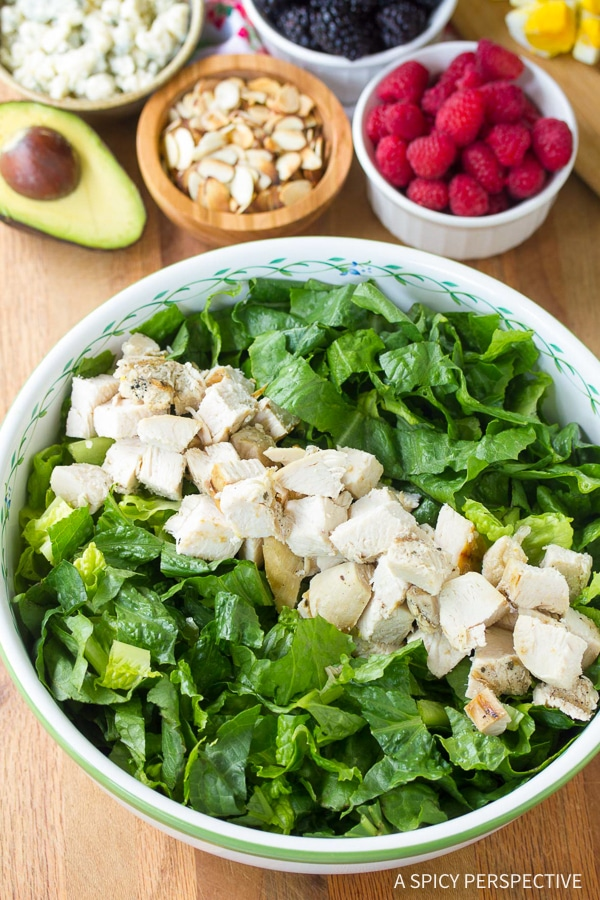 Making the Perfect Summer Cobb Salad Recipe with Creamy Garlic Lime Vinaigrette