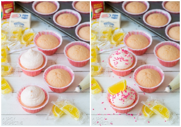Making Pink Lemonade Cupcakes! #lemon #lemonade #cupcakes #pink #kitchenconvo