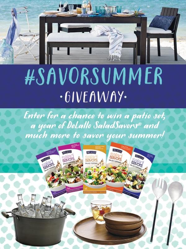 Al Fresco SaladSavors® #Giveaway with @DeLalloFoods ($3000) #SaladSavorsGiveaway #SavorSummer