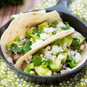Green Chile Steak Tacos