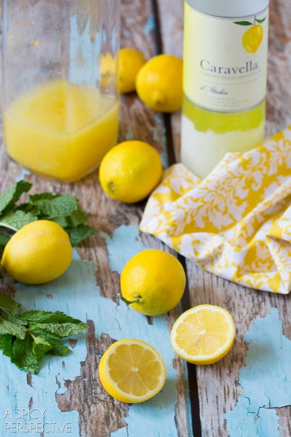 Making Limoncello Pops #summer #italian #pops #popsicles #lemon
