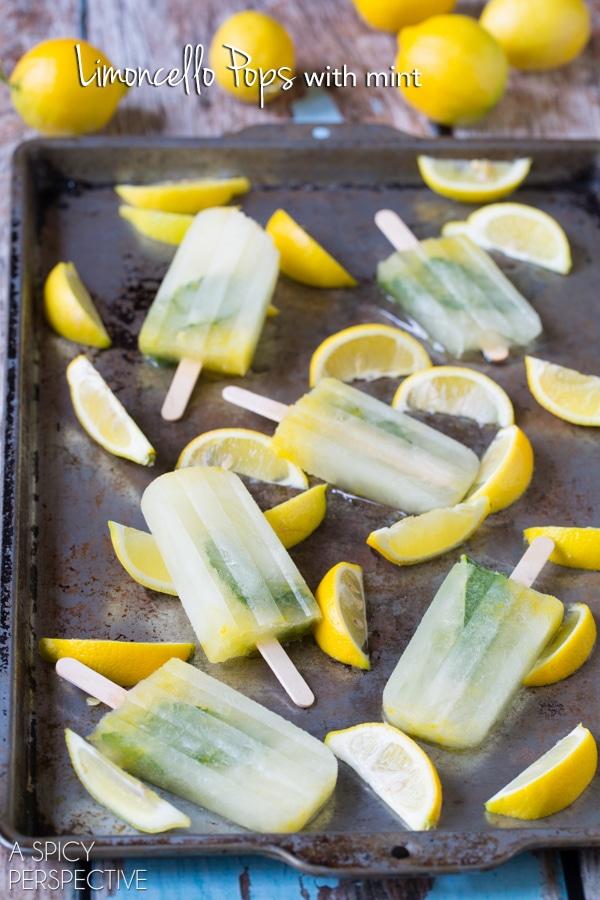 Love these Limoncello Pops #summer #italian #pops #popsicles #lemon