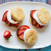 S'mores Strawberry Shortcake Recipe