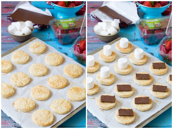 Summer S'mores Strawberry Shortcake Recipe #smores #summer #strawberryshortcake