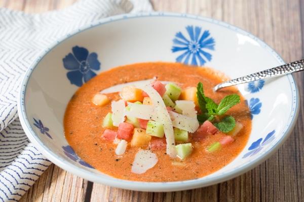 Watermelon Gazpacho Recipe