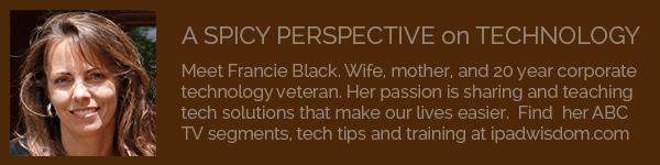 Francie Black at ipadwisdom.com