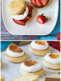 Strawberry Shortcake S'mores