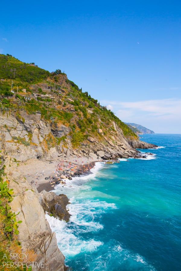 Cinque Terre Coast, Italy #travel #italy #cinqueterre