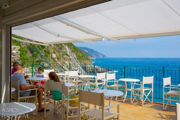 Cinque Terre Wine Bar, Italy #travel #italy #cinqueterre