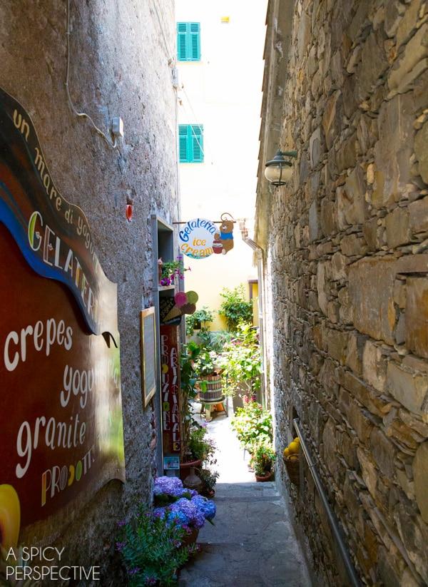 Gelato - Cinque Terre, Italy #travel #italy #cinqueterre