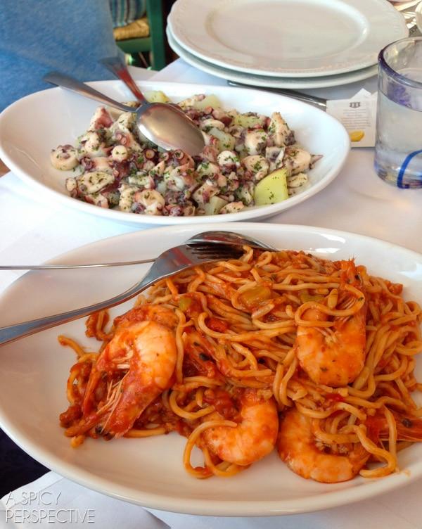 Eating in Cinque Terre, Italy #travel #italy #cinqueterre