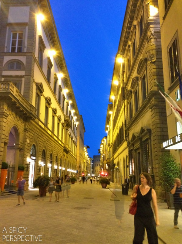 Florence, Italy at Night #italy #travel