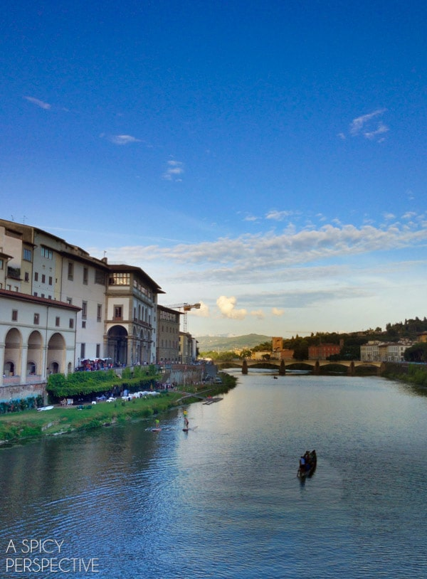 Off Ponte Vecchio - Florence, Italy #italy #travel