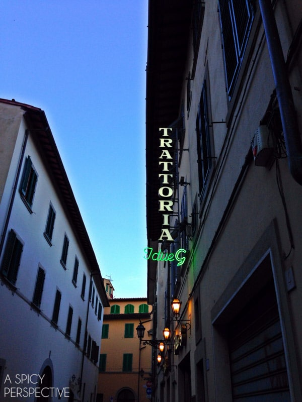 Trattoria I Due G - Florence, Italy #italy #travel
