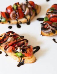 Grilled Octopus Bruschetta