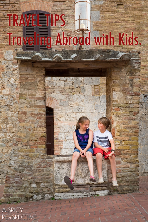 Travel Tips: Traveling with Kids Abroad! #travel #traveltuesday #kids #vacation