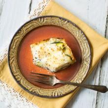 Classic Vegetable Lasagna (White Lasagna) #italian #lasagna #pasta
