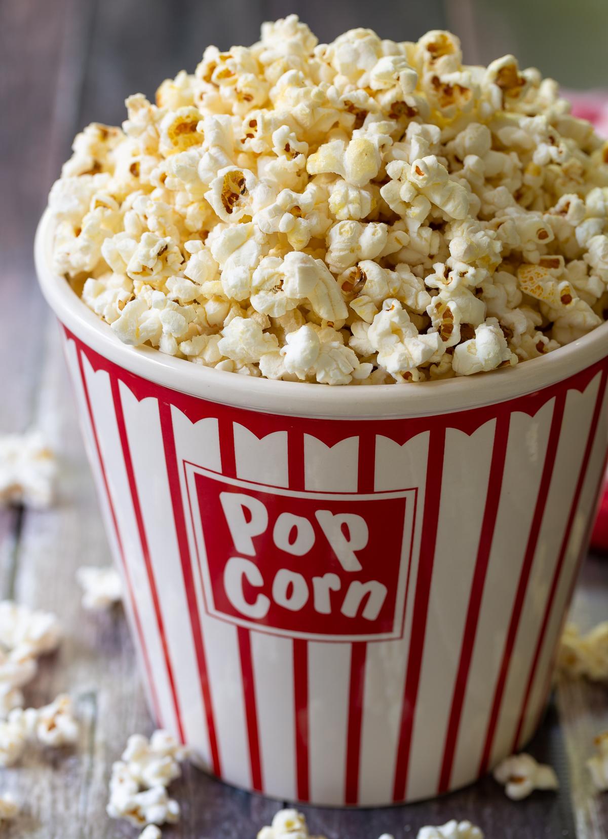 kettle corn popcorn