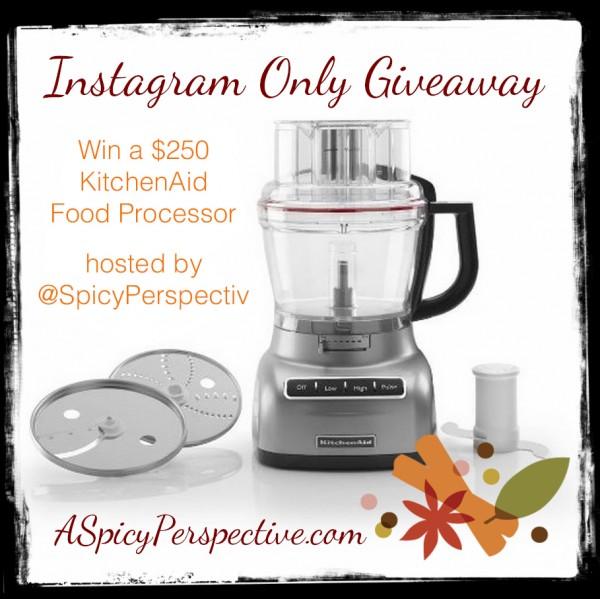 Instagram Giveaway on ASpicyPerspective.com
