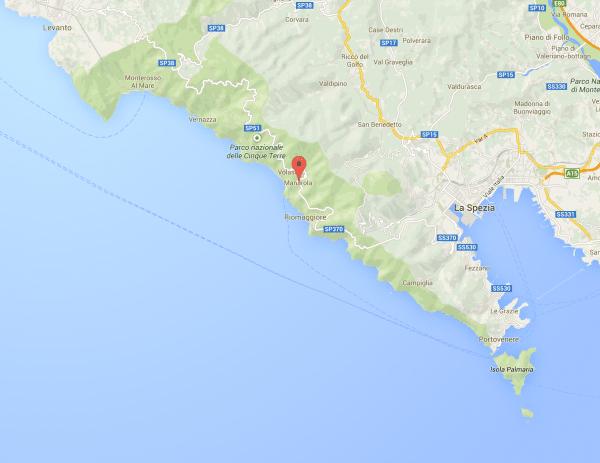 Map - Cinque Terre, Italy #travel #italy #cinqueterre