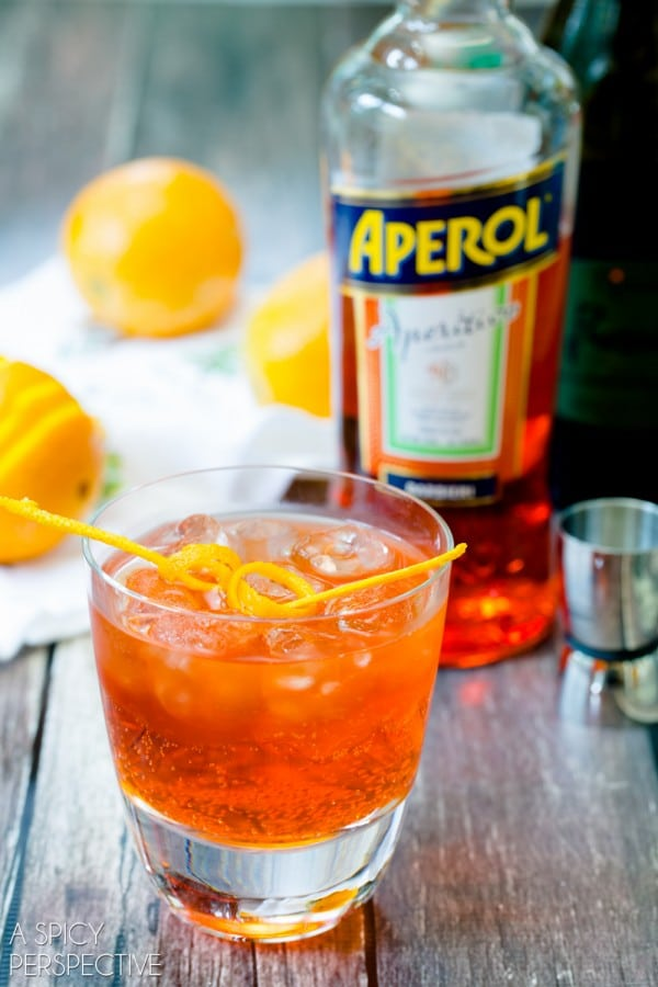 The Aperol Spritz #cocktail #summer #italian