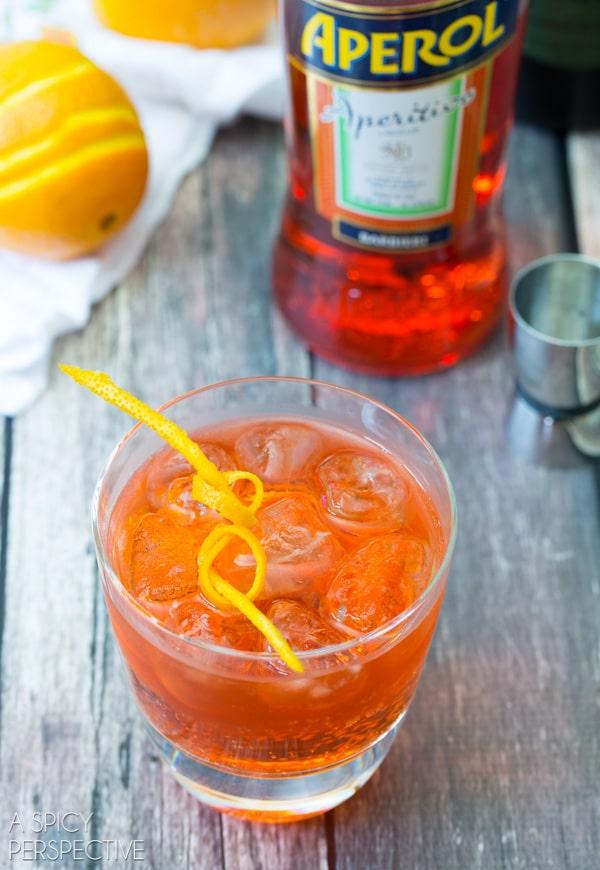 Simple  Aperol Spritz #cocktail #summer #italian