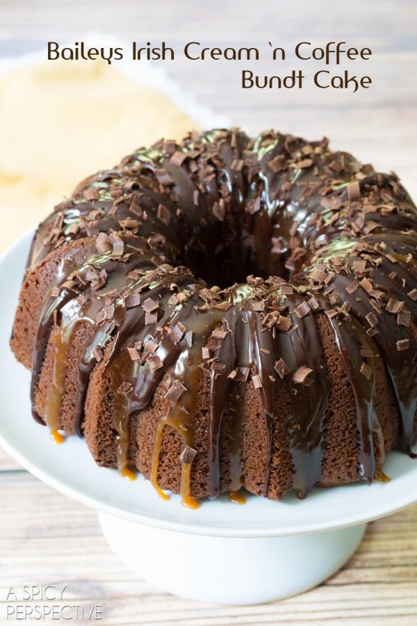 Baileys Chocolate Bundt Cake