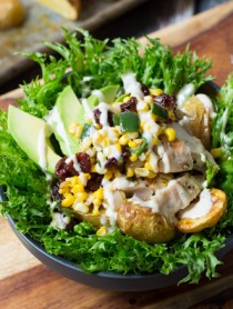 Southwest Chicken Caesar Salad