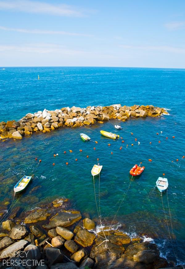 Pretty Cinque Terre, Italy #travel #italy #cinqueterre