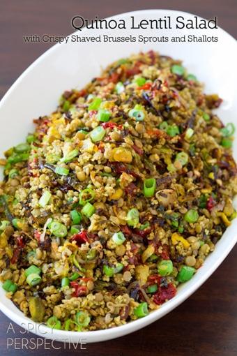 Quinoa-Lentil-Salad