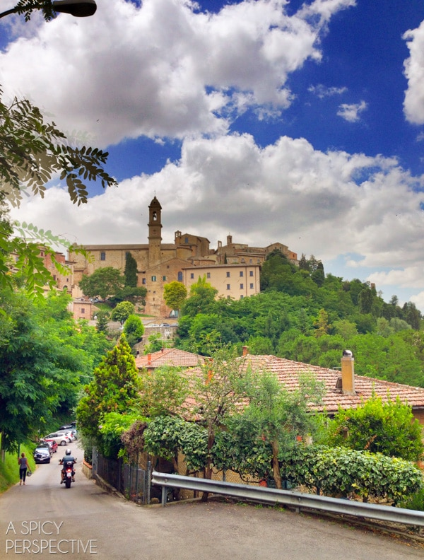 Tuscany, Italy: The Hill Towns on ASpicyPerspective.com #travel #italy #traveltuesday #tuscany