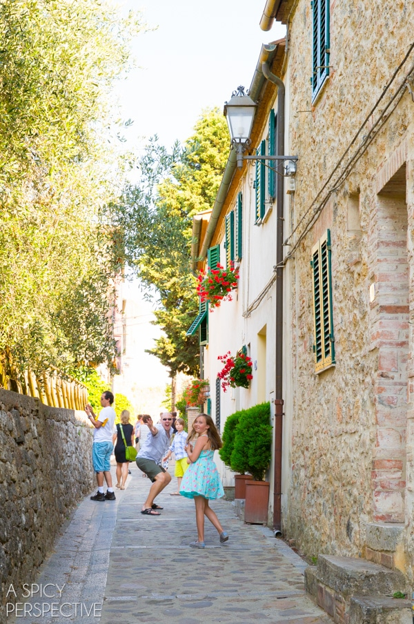 Travel Italy: The Hill Towns on ASpicyPerspective.com #travel #italy #traveltuesday #tuscany