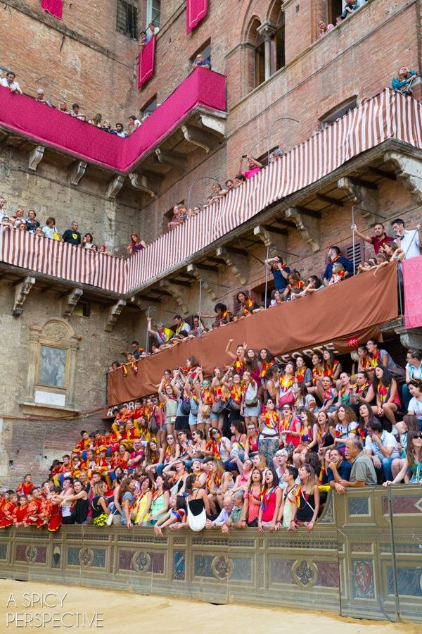 Palio Race, Siena #travel #italy #tuscany #traveltuesday