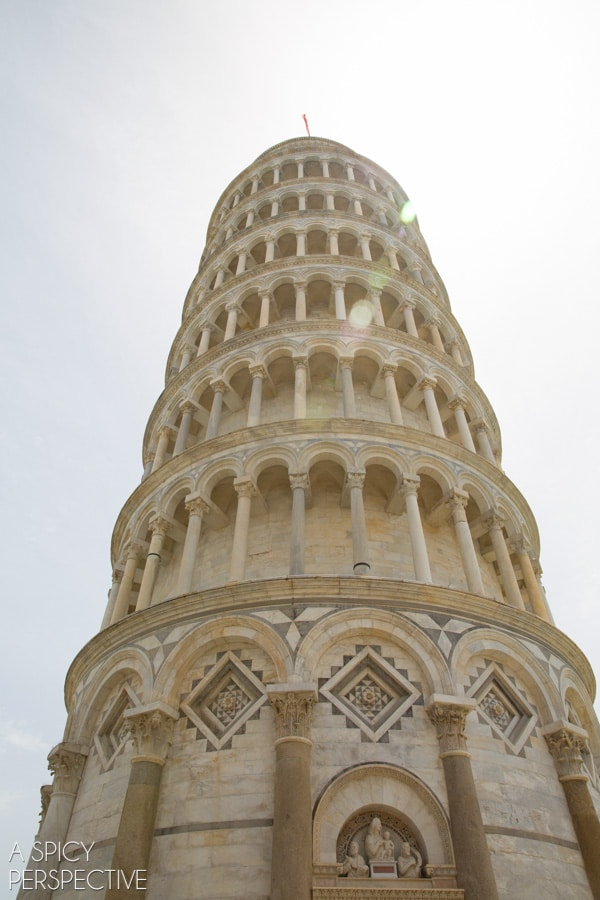Leaning Tower of Pisa, Italy #travel #italy #tuscany #traveltuesday