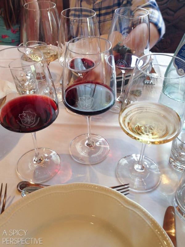 Chianti Wine Tasting - Tuscany Italy #travel #italy #tuscany #traveltuesday