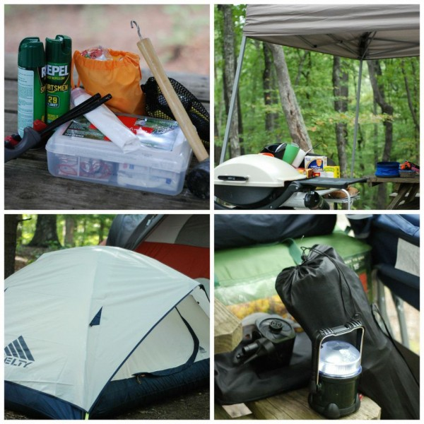 Thorough Camping Checklist on ASpicyPerspective.com #camping #fall