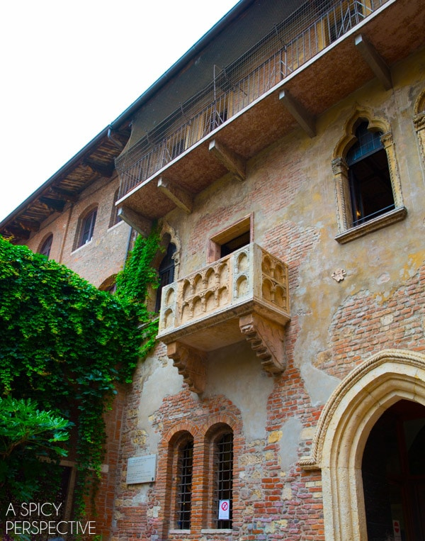 Juliet's House - Verona Italy #travel #italy #traveltuesday