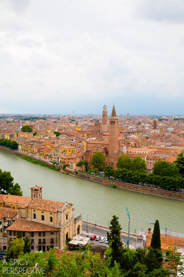Beautiful Verona Italy #travel #italy #traveltuesday