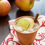 Easy Apple Butter Recipe - Bonita Apple Butter Cocktail! #fall #cocktails