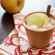Apple Butter Recipes - Bonita Apple Butter Cocktail! #fall #cocktails
