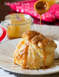 Baked Apple Recipe - Apple Bombs! #apple #fall #applepie